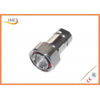 Buy cheap RF Coaxial 7/16 Jack DIN male connector Feeder connector for 1/2