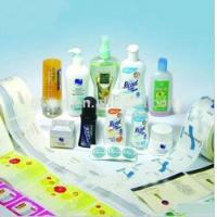 Buy cheap Custom self adhesive label for comestics packaging from wholesalers