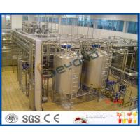 Wholesale ISO CE SGS Milk Production Machine , 250ml Aseptic Pouch Packing Milk Dairy Plant Machinery from china suppliers