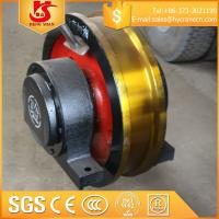 Wholesale Safe Driving Crane Wheel Set For overhead and gantry crane from china suppliers