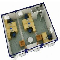 Quality Modular Container Office Layout for sale