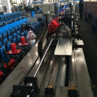 Buy cheap Gear Box Steel Ceiling Roll Forming Machine for purlin Cassette Type from wholesalers