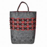 Wholesale Popular Felt Shopping Bag, Available in Various Colors, Ideal for Gifts and Promotions from china suppliers