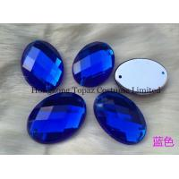 Wholesale sew on acrylic rhinestones flat back stones from china suppliers