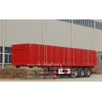 Wholesale Multi Axles enclosed cargo Box Semi Trailer with 7 ways receptacle from china suppliers