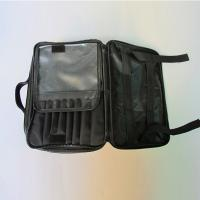 Quality Custom cosmetic bag, made of polyester and mesh material, portable, OEM welcomed for sale