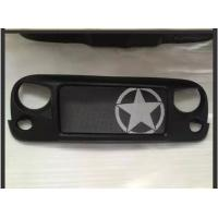 Wholesale Jeep Jk Wrangler Spartan Grille_Star Material: ABS Plastic from china suppliers