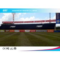 Wholesale Large Outdoor Stadium Perimeter Advertising Boards With 140 Degree Viewing Angle from china suppliers