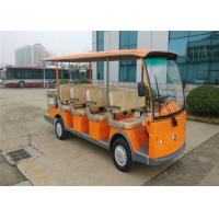 Wholesale 5.0KW Motor 14 Seater Electric Shuttle Bus Sightseeing Car With Pure Electric Power from china suppliers