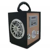 Wholesale UK-368C Portable Woodiness Speaker Box for Picnic Music from china suppliers
