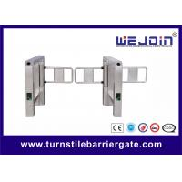 Wholesale IP32 Controlled Access Turnstiles 304 Stainless Steel Turn Stiles With Double Direction from china suppliers