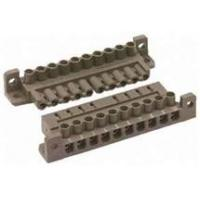 Wholesale customized SGS strap pcb Screw spade  terminal blocks connector with 16 pole from china suppliers