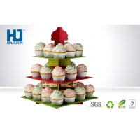 Wholesale Eco-friendly  Customized Design Cupcake Cardboard Display for Promotion Cakes from china suppliers