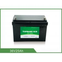 Wholesale Long Cycle Battery 36V 25AH Rechargeable Lithium Ion Battery from china suppliers