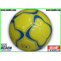 Wholesale Size 5 PVC Leather Photo Football Soccer Ball / Synthetic Shiny Official Soccer Balls from china suppliers