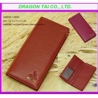 Wholesale Long style folding leather wallet,  customized leather wallet from china suppliers