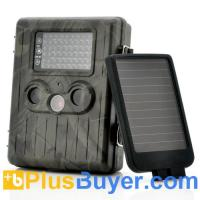 Wholesale SolarTrail - Solar Panel 1080p HD Game Camera (54 IR LEDs Night Vision, PIR Motion Detection, MMS) from china suppliers