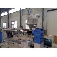 PE Plastic Extrusion Line , PE Cool And Hot Water Pipe Production Machinery