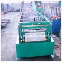 Wholesale Hydraulic Tile Roof Panel Roll Forming Machine With Color Steel 25.4 mm from china suppliers