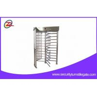 Wholesale Semi automatic full height turnstile access control Security Gate system from china suppliers