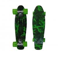Wholesale Plastic Green Skateboards Penny Boards Skateboard  PP / PC Material from china suppliers