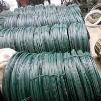 Wholesale Fine quality and low price green pvc coated wire from china suppliers