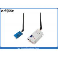 Buy cheap Lightweight FPV Video Transmitter and Receiver Mini Wireless Video Sender with 1200MHz 5000mW from wholesalers