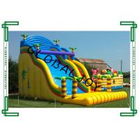 Wholesale Giant Colorful Inflatable Dry Slide , Inflatable Bouncer Slide For Kids from china suppliers
