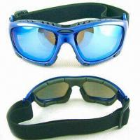 Wholesale Motorcycle Goggle with Interchangeable Temples and Strap from china suppliers