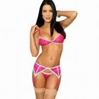 Wholesale Lustful Heart Sexy Underwear Set, Includes G-string from china suppliers