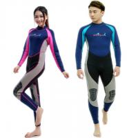 China Cheap 2 mm Neoprene Anti-UV wetsuit for women and men high quality fashion design wholesale on sale