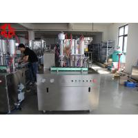 Wholesale Stainless Steel Tyre Repair Spray Aerosol Spray Filling Machine Automatic from china suppliers