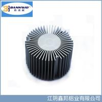 Buy cheap Sunflower Precistion Shapesof  Heat Sink Aluminum Extrusion Profiles from wholesalers