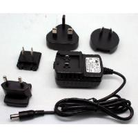 Wholesale 12V 1A Interchangeable Switching power adapter dc power jack plug adapter 5.5*2.1mm from china suppliers