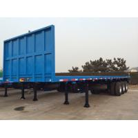 Wholesale 40 Feet-3 Axles-Front Gantry-Flat Bed Semi-Trailer from china suppliers
