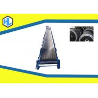 Wholesale 5m - 20m Conveying Length Inclined Cleated Belt Conveyor Adjustable Lifting Height from china suppliers