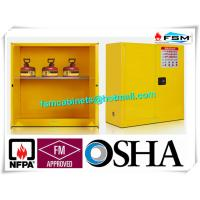 Wholesale Fire Proof Outdoor Chemical Storage Cabinets , Gas Cylinder Safety Cabinets from china suppliers