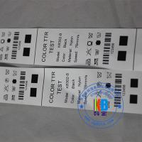 Wholesale Garment label fabric type barcodes printing economic printed polyamide nylon taffeta care label from china suppliers