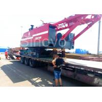 Wholesale Red Color Low Ground Pressure Hydraulic Crawler Mounted Crane For Chemical Industry from china suppliers
