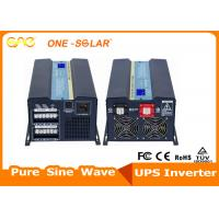 Quality Solar Hybrid Power Dc Ac Inverter 1500W 12V 220V With Overload Protection for sale
