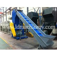 Wholesale 55KW Soundproof PET Bottle Recycling Plastic Crusher With 6 Rotate Blade from china suppliers
