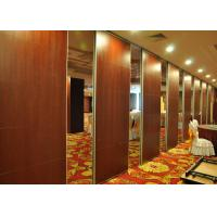 Wholesale Wooden Sliding Partition Walls  Melaine Folding Doors  Hanging Office Partition from china suppliers