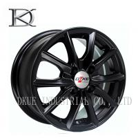 "Wholesale Hyper Black Aluminum TE37 Style Wheels 24"" Replica Wheels Four Holes from china suppliers"
