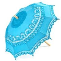 Wholesale LACE PARASOL - AQUA SUN UMBRELLAS from china suppliers