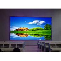 Wholesale 1.92mm Indoor Ultral HD LED Display For Conference Large View Angle from china suppliers