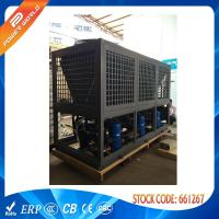 Wholesale 380v / 50hz Galvanized Steel 85kw Heating And Cooling Heat Pumps With Four Way Valve from china suppliers