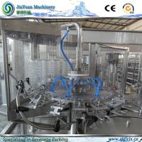 Quality CE / SGS Rotary 3 in 1 Juice Production Line 6000 Bottles Per Hour for sale