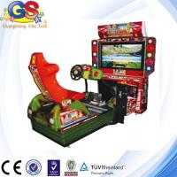 Wholesale 2014 4D simulator arcade racing car game machine, racing car steering wheel from china suppliers