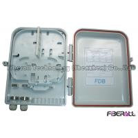 Wholesale Fiber Optic Distribution Box 16 Fibers FTTH Fiber To The Home Wall Or Pole Mounted from china suppliers