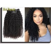 Wholesale Deep Wave Pure Virgin Human Hair Extensions , Unprocessed Virgin Hair Bundles from china suppliers